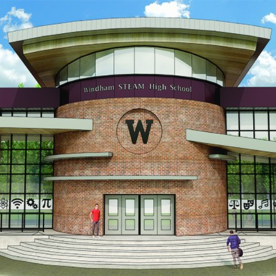 FRIAR Awarded Windham HS Project!
